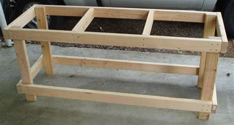 2x4 work bench standing herb garden visual engineering