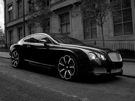 bentley blacked bentley continental gts black edition by project kahn