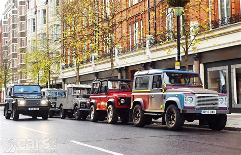 land rover london land rover defender hits london to celebrate 67 years