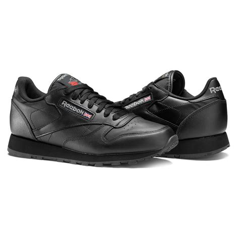 Reebok Black reebok classic leather black reebok gb