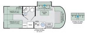 Class B Floor Plans Rv Class C Motorhome Floor Plans Rv Floor Plans Class C