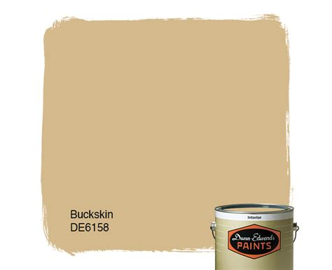 buckskin de6158 dunn edwards paints