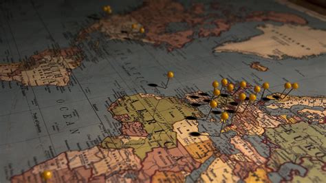 africa map hd wallpaper world map with pins wallpaper 4686 1920x1080 umad