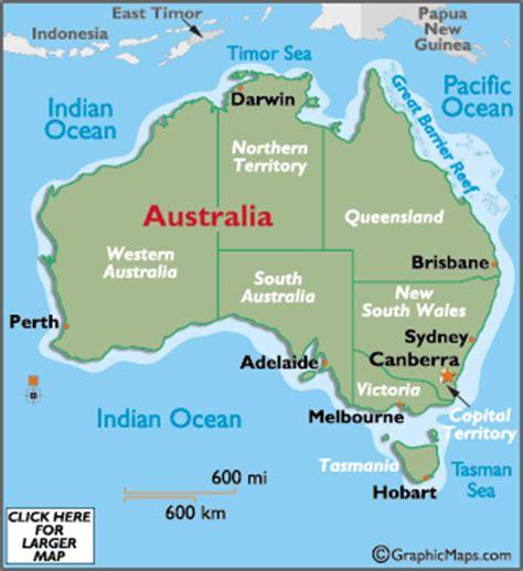 australia capital cities map australia map with capitals