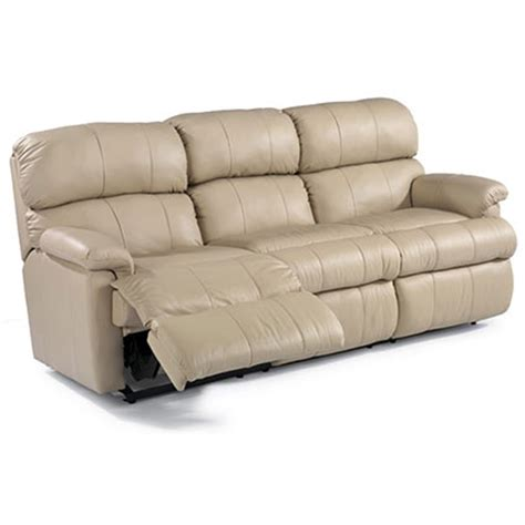 flexsteel 3066 62 chicago leather reclining sofa