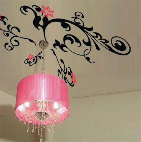 Wallsticker Flower Xy8039 wall decor decal sticker removable vinyl ceiling flower ebay