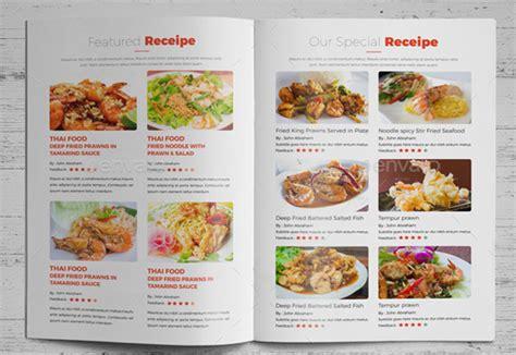 attractive cooking brochure templates psd ai vector