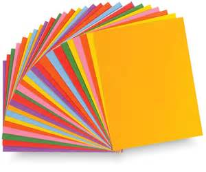 colored printer paper paper types explained