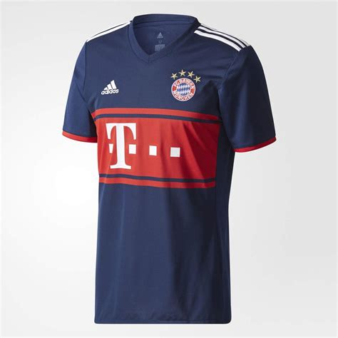 Bayern Muenchen Away bayern munich 17 18 away kit released footy headlines