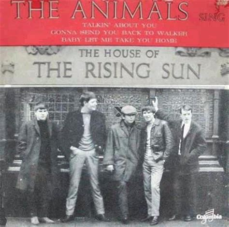 house of the rising sun the animals the house of the rising sun