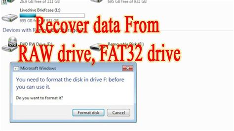 exfat format not working recover data from corrupted sd card or usb raw drive