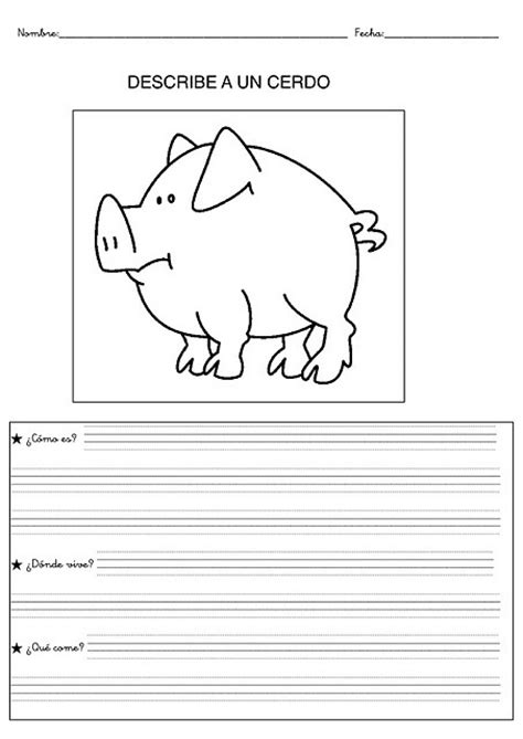 imagenes animales para describir imagenes para describir y colorear de acciones imagui