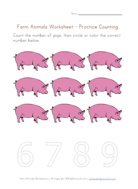 farm animals worksheets our site