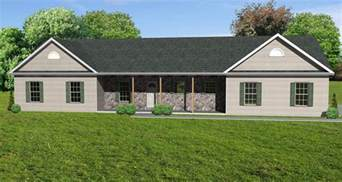 Ranch House Plan Great Room Ranch House Plan Ranch Houseplan With