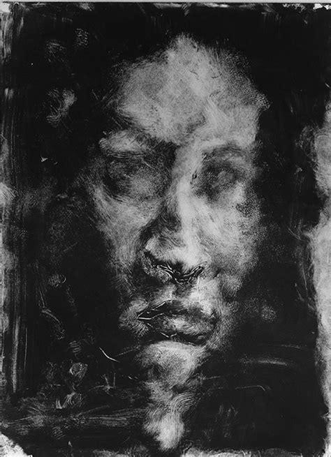 Self Portrait Monoprints - Jamie Accashian