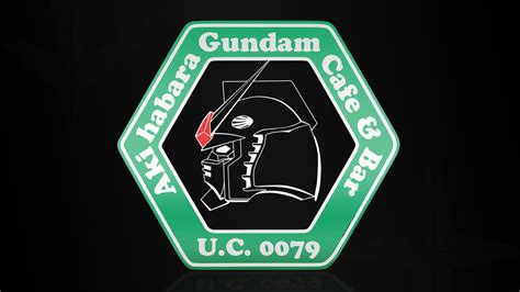 Gundam Logo 03 gundam cafe logo by michaelknouff on deviantart