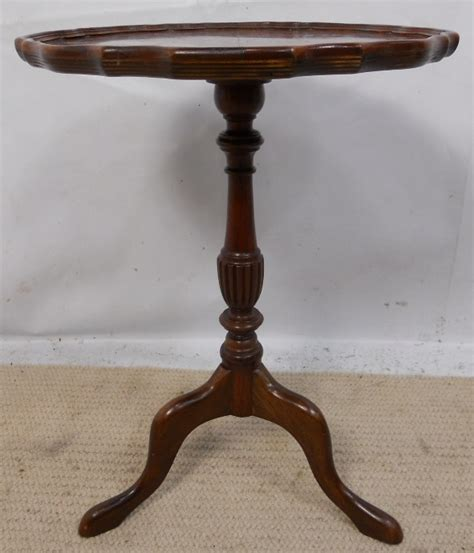 Small Pedestal Table by Small Pedestal Shaped Top Mahogany Wine Table