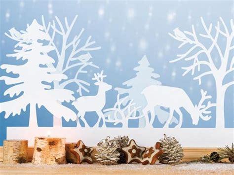 Fensterdeko Weihnachten Winter by Bastelideen Fensterbilder Zu Weihnachten