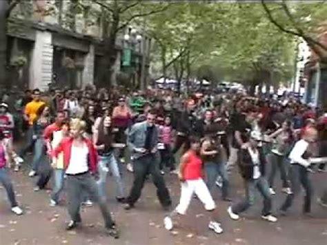 tutorial flash mob beat it michael jackson birthday celebration seattle flash mob