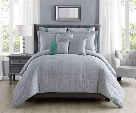 silver queen comforter set 8 piece shannon silver comforter set