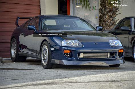 1995 Toyota Supra 1995 Toyota Supra Turbo Targa 1342 Hp 3 2l Promod 88mm