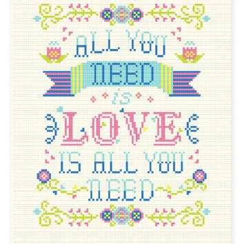 c regex pattern quotes birth announcement cross stitch pattern from