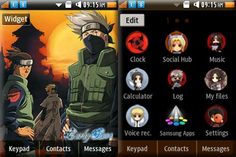 naruto themes for samsung corby 2 corby 2 themes sensei theme by anonymous samsung corby