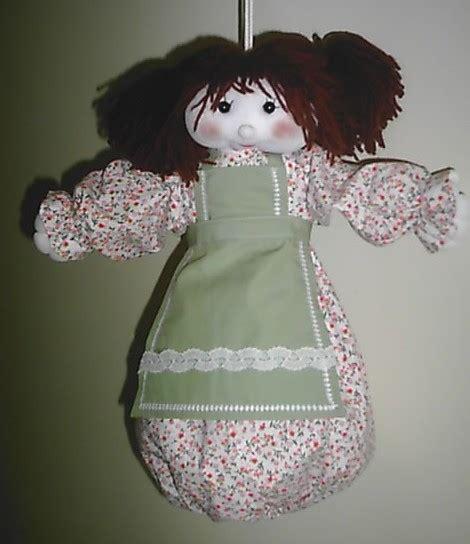 porta sacchetti cod bam03 bambola portasacchetti spesa