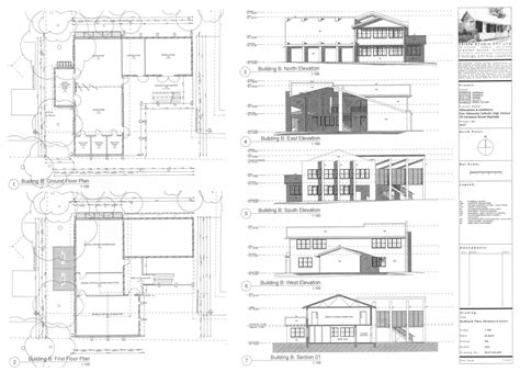residential home plans residential floor plans and elevations house style and plans