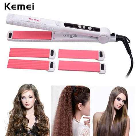 bellami 3 in one curling iron kemei led hair curler 3 in 1 hair curling iron set with