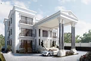 Villa Exterior Design Classic Villa Exterior By Kasrawy On Deviantart
