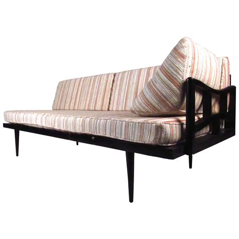 settee daybed unique mid century modern daybed settee at 1stdibs