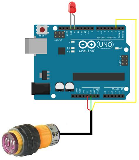 arduino code distance sensor how to build a infrared proximity switch circuit with an