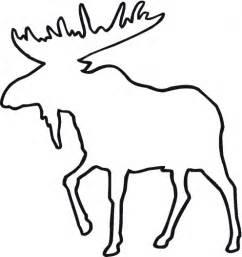 animal outlines moose outline julie forrest daye the world coloring