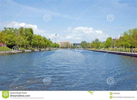 boat graphics ottawa rideau canal royalty free stock image image 24869256