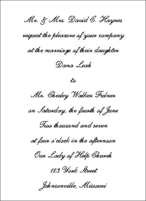 wording for traditional wedding invitations wedding invitation wording wedding invitation wording and