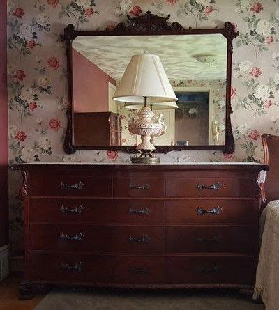 52155 Antique Mahogany Bedroom Set Bed Dresser Mirror Chest Nightstand Ebay Hellam Furniture Co Of Penn Vintage Mahogany Bedroom Set Incl Bed Twelve Drawer Dresser