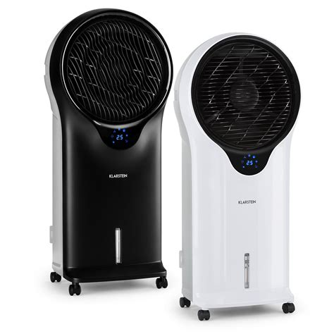 cooler fan for room klarstein portable air cooler fan humidifier black remote room office freep p eur 1 028 32
