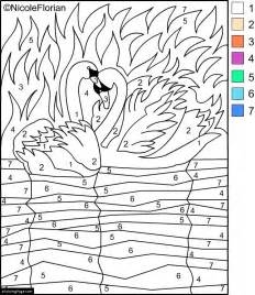 color by numbers for adults free coloring pages of color by number