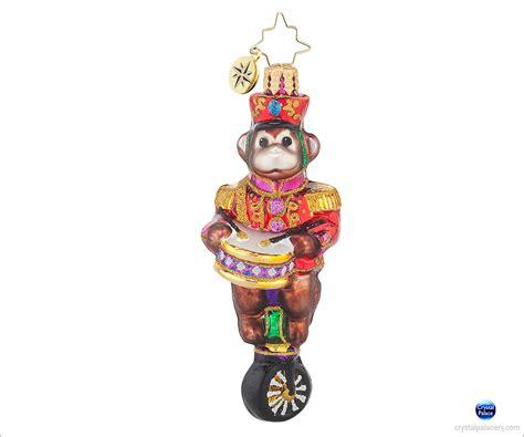 Radko Ornaments - 1017706 christopher radko monkeying around gem