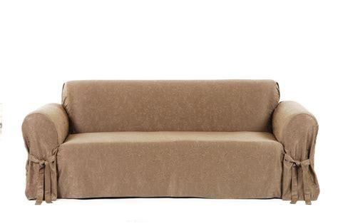 matelasse sofa slipcovers matelasse chocolate sofa the slipcover company