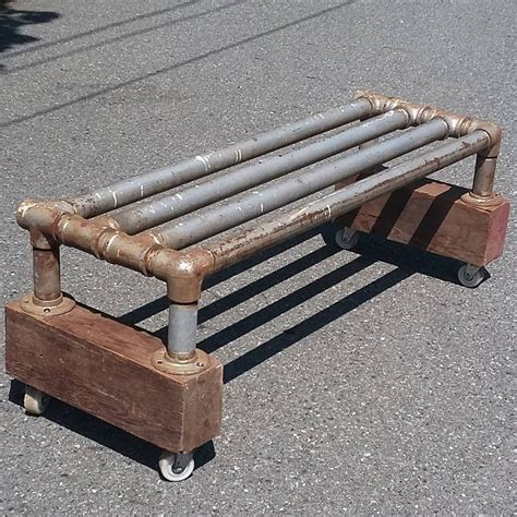 pipe bench 1000 images about industrial pipe inspiration on