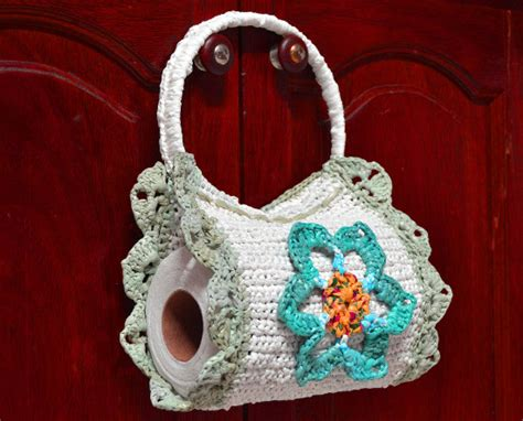 porta rollo para cocina a crochet porta rollo para cocina a crochet