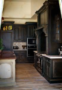 Antique Black Kitchen Cabinets Colored Kitchen Cabinets