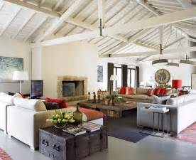 Modern Rustic Home Decor Ideas by Charming Combination Of Rustic Furniture And Modern