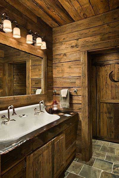 cabin bathrooms ideas du rustique dans la salle de bain floriane lemari 233