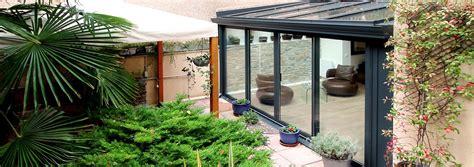 veranda zen r 233 novation v 233 randa alu anthracite sur jardin zen 75019