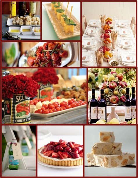 themed dinner italian themed dinner