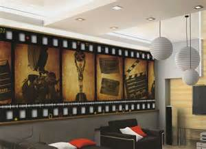 home theater decor film filmstrip wallpaper wall mural the avengers wall mural hulk captain americ thor photo
