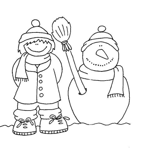 imagenes para pintar vacaciones invierno ropa de invierno dibujos imagui